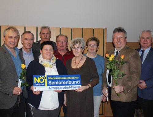 Jahreshauptversammlung Seniorenbund