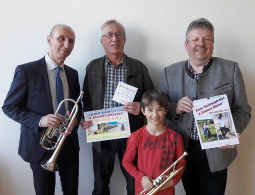 Spendenübergabe an Musikschule