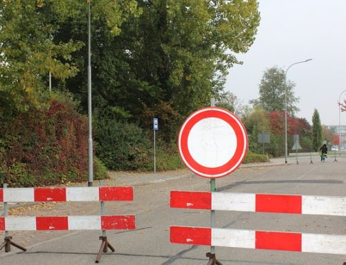 Ortsdurchfahrt gesperrt