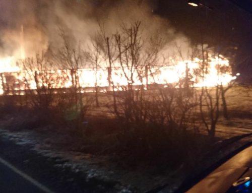 Brand Fernheizwerk in Poysbrunn