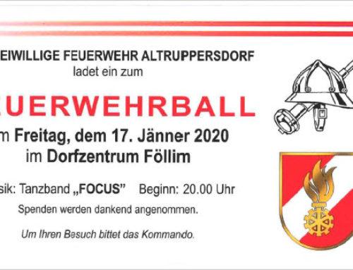 Einladung – Feuerwehrball