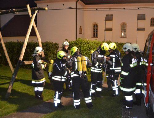 Feuerwehrübung – Atemschutzübung mit diverse Hindernisse