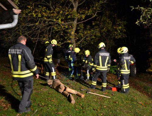 Feuerwehrübung – Technische Übung