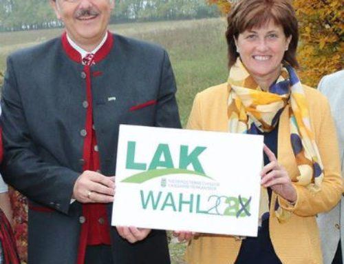 Josefa Czezatke weiter LAK-Vizepräsidentin