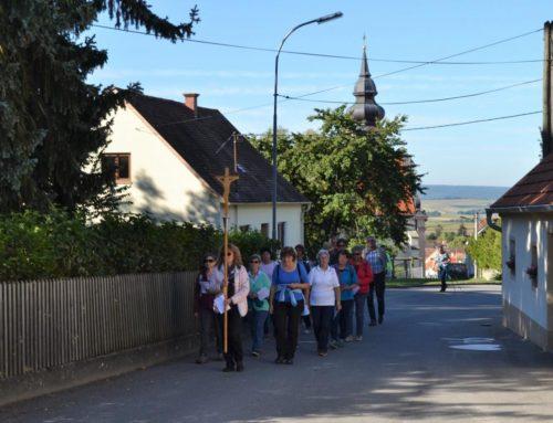 Wallfahrer aus Wilhelmsdorf