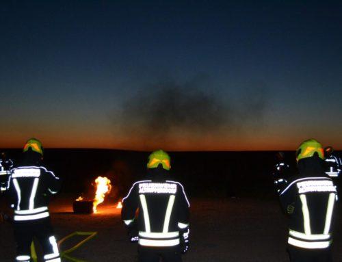 Feuerwehrübung – Angriffsübung