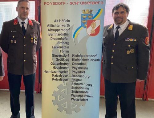 Alfred Groher ist neuer Abschnittskommandant-Stellvertreter